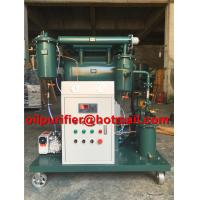 Portable transformer vacuum oil purifier insulating oil treatment machine used oil filter single stage high efficiency for sale