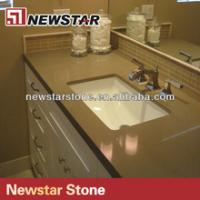 Wholesale Newstar high quality quartz bathroom vanity countertops from china suppliers