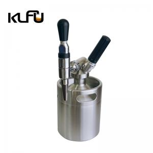 Wholesale 14.5*15.5*20cm Stainless Steel 2L Nitrogen Coffee Keg from china suppliers