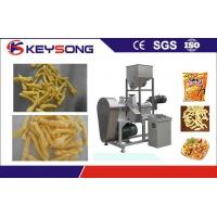 Wholesale Kurkure Chips Cheetos Making Machine , Fried Corn Curls Food Extrusion Equipment from china suppliers