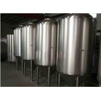GMP Standard Stainless Fermentation Tank Double Layer For Brew Beer