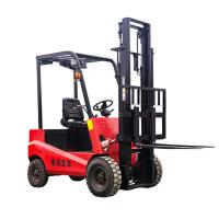 Wholesale Cheap Price electric stacker forklift 4 wheel electric forklift 1 ton, 1.5ton electric forklift truck from china suppliers