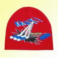 Wholesale Knitted Jacquard Hat Made of 94% Acrylic and 6% Amine from china suppliers