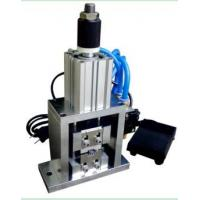 Φ40MM Cylinder Diameter Wire Stripping Machine For Cutting HDMI Cable Aluminum Foil