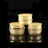 China Nice Design Cosmetic Cream Jars And Bottles Acrylic Plastic Cosmetic Containers Premium Cosmetic Packaging on sale
