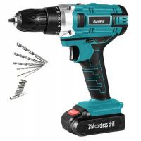 China Portable 21V Cordless Drill High Performance 0 - 350RPM / 0 - 1350RPM Speed for sale