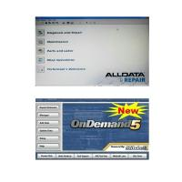 China Alldata 10.50 and Mitchell Ondemand5 2 in 1 Automotive Diagnostic Software on sale