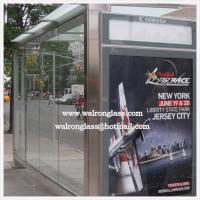 Wholesale Functional Bus Stop Shelter with Tempered/Toughened Glass from china suppliers