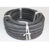 Outer Fiber Braided Rubber Air Hose , Black Retractable Air Hose