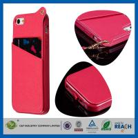 Quality PU Leather Apple Cell Phone Cases for sale