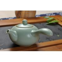 Wholesale Celadon Ru Kiln Porcelain Tea Sets With 1 Teapot, 1 Gongdao Cup, 6 Cups from china suppliers