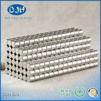 Power Rare Earth Magnet , Composite Permanent neodymium magnets cylinder FOR electronic for sale