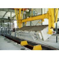 Quality 6.0m mould AAC Block Equipment Sand Lime And Fly Ash Block Plant 150000 m3 for sale