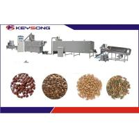 Buy cheap Extrusion Dry Wet Dog Food Making Machine Pet Food Extruder Manufacturing from wholesalers