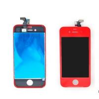Wholesale CellPhone Iphone 4S Conversion kit LCD Digitizer Assembly Red Color Iphone 4s Repair Parts from china suppliers