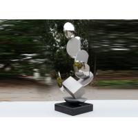 Wholesale Modern Stainless Steel Sculpture Highly Polished For Pool Decoration from china suppliers