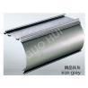 Aluminum Impact Extrusion Sections , Drawbench Aluminium Custom Curtain Tracks Iron Grey 10 #