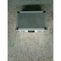 China 50*50*25CM Silver  Color  Gery Foam With  9mm Plywood And 1mm Thickness  Aluminum Tool Cases With 3'' Wheels for sale