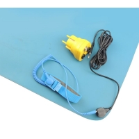 Wholesale 120x60cm Rubber Antistatic Table ESD Mats With Wrist Band from china suppliers
