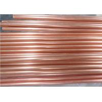 Wholesale Straight Seamless Copper Pipe C11000 , Custom Rotating Bands Copper Round Tube from china suppliers