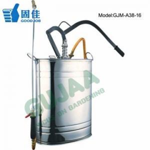 China Left Side Herbicide Sprayer , 16L Stainless Steel Garden Sprayer on sale