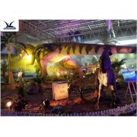 Wholesale Indoor Shopping Mall Realistic Dinosaur Statues Decoration Full Size Animal Models from china suppliers