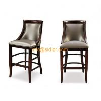 Wholesale CL-4402 Luxury club bar furniture, solid wood bar chair, wooden bar stool, high bar chair from china suppliers