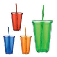 China Plastic Straw Cup on sale