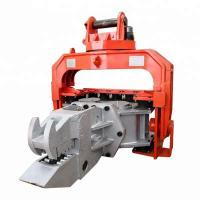 China High Efficiency Hydraulic Pile Hammer Changeable Gear For Sheet Piles Pulling for sale