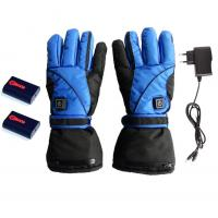 China 7.4v Battery Heated Gloves with 3-level Temperature Adjustable on sale