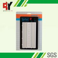 Best ABS Plastic White Solder Breadboard 1380 Tie Points Without Color Printed wholesale