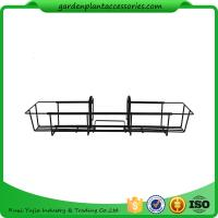 Wholesale 24 Inch Black Garden Hanging Baskets from china suppliers