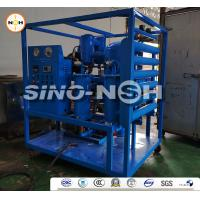 Vacuum Transformer Oil Filtration Machine Treatment Plant / Insulating Oil Portable Oil Purifier for sale