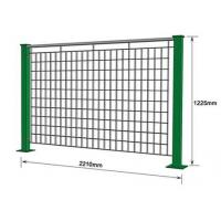 Wholesale Powder Coated Galvanized Steel Bar Electro Welded Modular Grating Fence from china suppliers