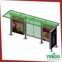 Wholesale Outdoor street furture bus shelter advertising lightbox from china suppliers
