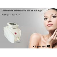 China 800W Luminous Laser Hair Removal Machine Strong Cooling For Vascular Spider Vein Removal for sale