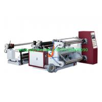 Wholesale 200mpm Horizontal Roll Slitting Machine BOPP PET CPP PVC Aluminum Foil And Paper from china suppliers