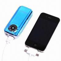 Wholesale 5600mAh Portable Power Banks, Used for iPad/iPhone/iPod/Smartphones/Digital Cameras, MP3/MP4 Players from china suppliers