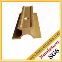 Wholesale brass extrusion profiles with hole from china suppliers