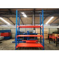 Wholesale Custom Powder Coated Heavy Duty Industrial Shelving For Warehouse With Steel Plate from china suppliers
