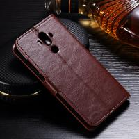 Wholesale Anti - Dirt Huawei Leather Case For Huawei Mate 9 Magnetic Slim Design from china suppliers