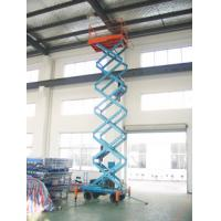 Vertical electric Telescopic hydraulic scissor lifts for Theatre , Hospital , Library
