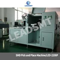 Buy cheap smd led pcb assembly machine ,led pick and place machine with nozzle heads from wholesalers