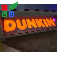 China Waterproof LED Shop Display Led Channel Letter Signs Vinly Custom Make on sale