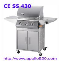 China Gas Grill Barbecue 3burner with side burner on sale