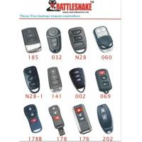 Wholesale 3 button engine start Car Alarm Remotes controllers  for vibration shock sensor, 433Mhz from china suppliers