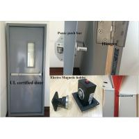 China Steel Fire door with UL certified/UL Steel Fire door on sale