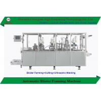 China 380V / 50 Hz Blister Forming Machine Cutting Trimming Device New Condition on sale