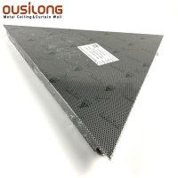 Wholesale PVDF Coating 1.2mm Trim In Silver Office Ceiling Tiles from china suppliers
