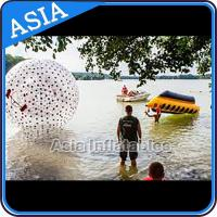 Water Games Used Pvc Inflatable Zorb With Color Dots For Children for sale